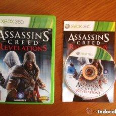 Videojuegos y Consolas: JUEGO XBOX 360 ASSASSIN'S CREED REVELATIONS. Lote 140058470