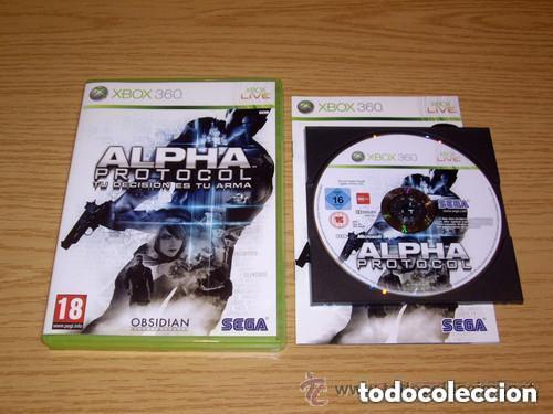JUEGO XBOX 360 ALPHA PROTOCOL (Juguetes - Videojuegos y Consolas - Microsoft - Xbox 360)