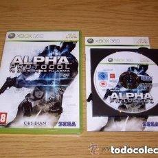 Videojuegos y Consolas: JUEGO XBOX 360 ALPHA PROTOCOL. Lote 141152654