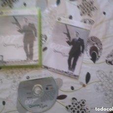 Videojuegos y Consolas: JUEGO XBOX 360 007 QUANTUM OF SOLACE. Lote 141152706