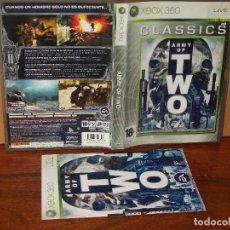 Videojuegos y Consolas: ARMY OF TWO - CLASSICS - XBOX 360 CON MANUAL DE INSTRUCCIONES . Lote 141930674