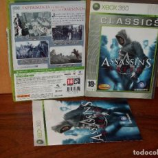 Videojuegos y Consolas: ASSASSIN'S CREED - CLASSICS - XBOX360 CON MANUAL DE INSTRUCCIONES . Lote 141930934