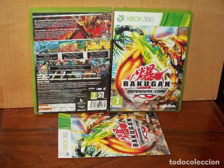 BAKUGAN - DEFENDERS EF THE CORE - XBOX 360 CON MANUAL DE INSTRUCCIONES (Juguetes - Videojuegos y Consolas - Microsoft - Xbox 360)