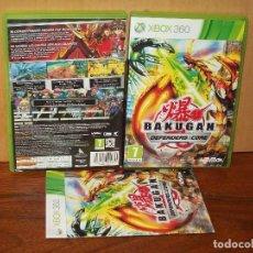 Videojuegos y Consolas: BAKUGAN - DEFENDERS EF THE CORE - XBOX 360 CON MANUAL DE INSTRUCCIONES. Lote 195280422