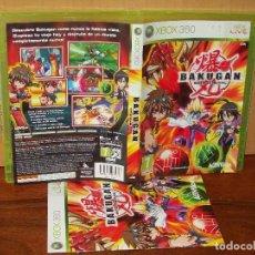 Videojuegos y Consolas: BAKUGAN - BATTLE BRAWLERS - XBOX 360 CON MANUAL DE INSTRUCCIONES. Lote 243546400