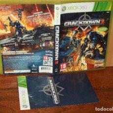 Videojuegos y Consolas: CRACKDOWN 2 - XBOX 360 CON MANUAL DE INSTRUCCIONES . Lote 141935518