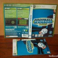 Videojuegos y Consolas: FOOTBALL MANAGER 2006 - XBOX 360 CON MANUAL DE INSTRUCCIONES . Lote 141939758