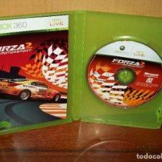 Videojuegos y Consolas: FORZA 2 MOTPRSPORT - XBOX 360 SIN CARATULA DEL JUEGO CON MANUAL DE INSTRUCCIONES . Lote 141942502