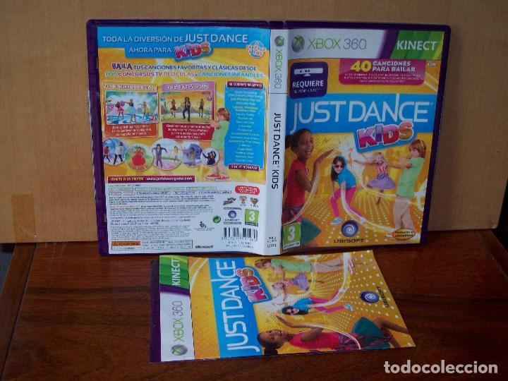 JUST DANCE KIDS - XBOX 360 REQUIERE SENSOR KINET CON MANUAL DE INSTRUCCIONES (Juguetes - Videojuegos y Consolas - Microsoft - Xbox 360)