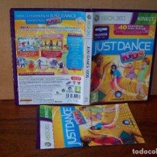 Videojuegos y Consolas: JUST DANCE KIDS - XBOX 360 REQUIERE SENSOR KINET CON MANUAL DE INSTRUCCIONES . Lote 141945670