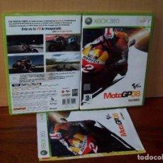 Videojuegos y Consolas: MOTO GP 08 - XBOX 360 CON MANUAL DE INSTRUCCIONES . Lote 142022146