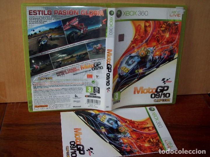 MOTO GP 09/10 - XBOX 360 - CON MANUAL DE INSTRUCCIONES (Juguetes - Videojuegos y Consolas - Microsoft - Xbox 360)