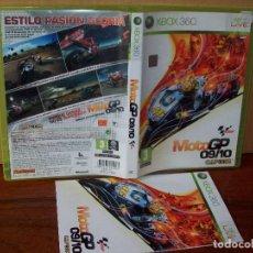 Videojuegos y Consolas: MOTO GP 09/10 - XBOX 360 - CON MANUAL DE INSTRUCCIONES . Lote 142022282