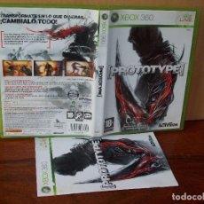 Videojuegos y Consolas: PROTOTYPE - XBOX 360 - CON MANUAL DE INSTRUCCIONES . Lote 142044870