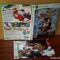 Videojuegos y Consolas: STREET FIGHTER IV - XBOX 360 - CON MANUAL DE INSTRUCCIONES . Lote 142051182