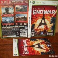 Videojuegos y Consolas: TOM CLANCY'S -ENDWAR - XBOX 360 - CON MANUAL DE INSTRUCCIONES . Lote 142052030
