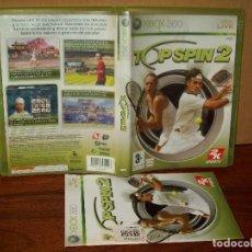 Videojuegos y Consolas: TOP SPIN 2 - XBOX 360 - CON MANUAL DE INSTRUCCIONES . Lote 142052206