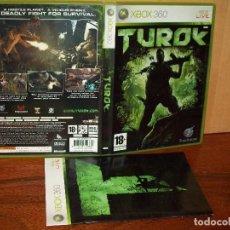 Jeux Vidéo et Consoles: TUROK - XBOX 360 - CON MANUAL DE INSTRUCCIONES . Lote 142052354