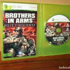 Videojuegos y Consolas: BROTHERS IN ARMS - HELL'S HIGHWAY - XBOX 36O - SIN CARATULA DE LA PORTADA - CON MANUA. Lote 142053510