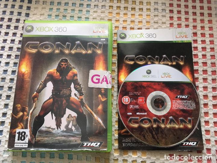 CONAN THQ MICROSOFT XBOX 360 X360 X-360 KREATEN VIDEOJUEGO (Juguetes - Videojuegos y Consolas - Microsoft - Xbox 360)