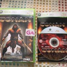 Videojuegos y Consolas: CONAN THQ MICROSOFT XBOX 360 X360 X-360 KREATEN VIDEOJUEGO. Lote 143192938