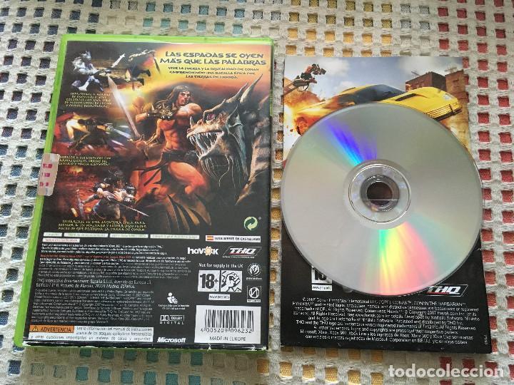 Videojuegos y Consolas: CONAN THQ Microsoft XBOX 360 X360 X-360 kreaten videojuego - Foto 2 - 143192938