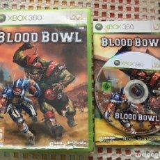 Videojuegos y Consolas: BLOOD BOWL CYANIDE STUDIOS FOCUS PAL XBOX 360 X360 X-360 KREATEN VIDEOJUEGO. Lote 143194098