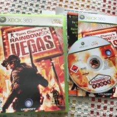 Videojuegos y Consolas: TOM CLANCY'S RAINBOW SIX VEGAS PAL XBOX 360 X360 X-360 KREATEN VIDEOJUEGO. Lote 143198062