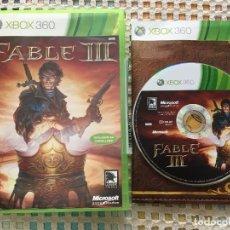 Videojuegos y Consolas: FABLE III 3 MICROSOFT PAL XBOX 360 X360 X-360 KREATEN VIDEOJUEGO. Lote 143198990