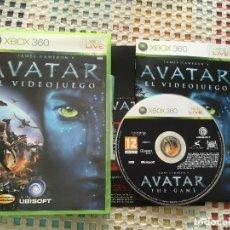 Videojuegos y Consolas: JAMES CAMERON AVATAR EL VIDEOJUEGO UBISOFT PAL XBOX 360 X360 X-360 KREATEN VIDEOJUEGO. Lote 143200442