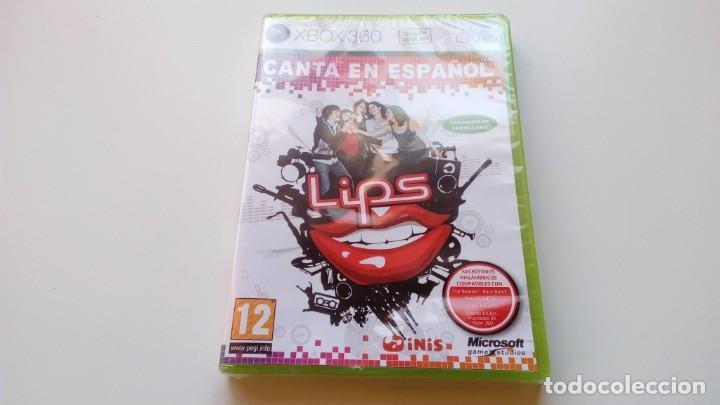 JUEGO LIPS CANTA EN ESPAÑOL NUEVO SIN ABRIR XBOX 360 ONE PAL FUNCIONANDO PERFECTAMENTE (Juguetes - Videojuegos y Consolas - Microsoft - Xbox 360)
