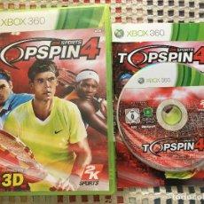 Videojuegos y Consolas: TOP SPIN 4 TENIS TENNIS 2K SPORTS PAL XBOX 360 X360 KREATEN. Lote 144130426