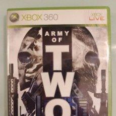 Videojuegos y Consolas: ARMY OF TWO ED FÍSICA PARA XBOX 360 COMO NUEVO. Lote 144278774
