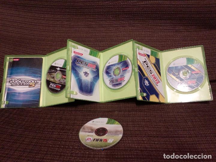 Videojuegos y Consolas: PRO EVOLUTION SOCCER PES 2011-2012-2013 y FIFA 15 - XBOX 360 . - Foto 2 - 145019878