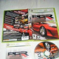 Videojuegos y Consolas: JUEGO XBOX 360 PGR 3. Lote 145556570