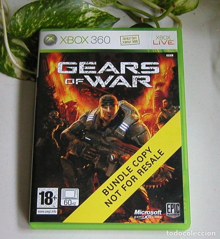 Videojuegos y Consolas: JUEGO DE XBOX 360 GEARS OF WAR EN PERFECTO ESTADO Y COMPLETO PAL - Foto 2 - 115303495