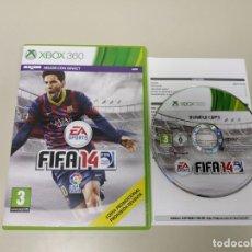 Videojuegos y Consolas: J- JUEGO FIFA 14 XBOX 360 PAL MICROSOFT EUR . Lote 146021742