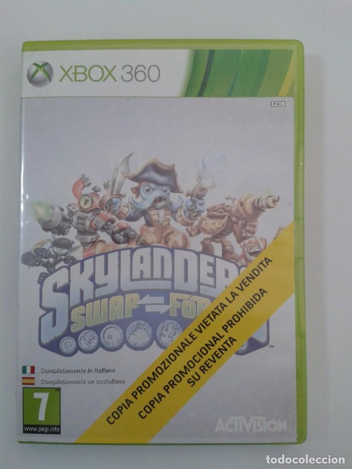 SKYLANDERS SWAP FORCE. X-BOX 360 (Juguetes - Videojuegos y Consolas - Microsoft - Xbox 360)