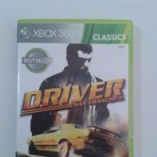 Videojuegos y Consolas: DRIVER SAN FRANCISCO - CLASSICS . X-BOX 360. Lote 146560594