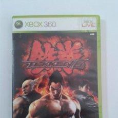 Videojuegos y Consolas: TEKKEN 6. X-BOX 360. Lote 146567042