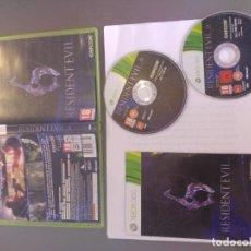 Videojuegos y Consolas: RESIDENT EVIL 6 XBOX360 XBOX 360 COMPLETO PAL-ESPAÑA . Lote 146628534