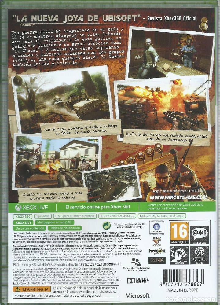 Videojuegos y Consolas: Far Cry 2 - Foto 2 - 147633910