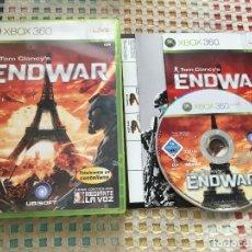 Videojuegos y Consolas: TOM CLANCY'S END WAR ENDWAR CASTELLANO XBOX 360 X360 KREATEN . Lote 147754742