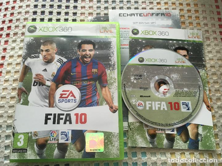 FIFA 10 XBOX 360 X360 X-360 MICROSOFT EA SPORTS KREATEN (Juguetes - Videojuegos y Consolas - Microsoft - Xbox 360)
