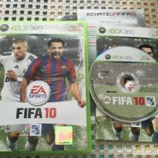 Videojuegos y Consolas: FIFA 10 XBOX 360 X360 X-360 MICROSOFT EA SPORTS KREATEN. Lote 150026514