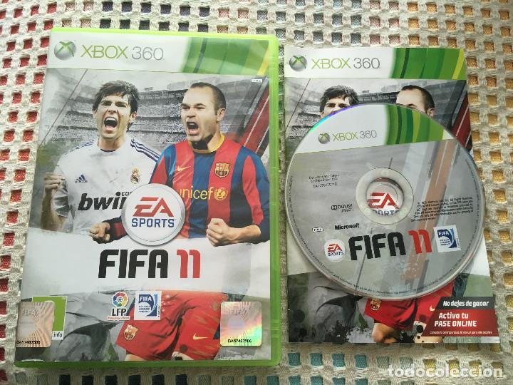 FIFA 11 XBOX 360 X360 X-360 MICROSOFT EA SPORTS KREATEN (Juguetes - Videojuegos y Consolas - Microsoft - Xbox 360)