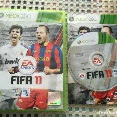 Videojuegos y Consolas: FIFA 11 XBOX 360 X360 X-360 MICROSOFT EA SPORTS KREATEN. Lote 150026654