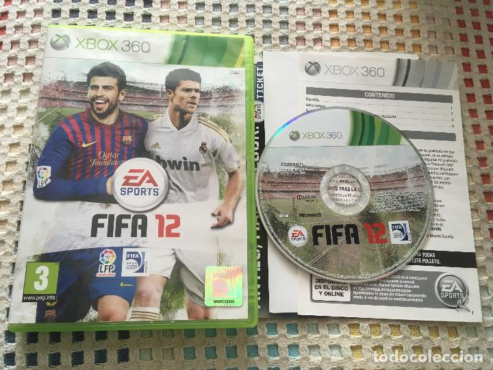 FIFA 12 XBOX 360 X360 X-360 MICROSOFT EA SPORTS KREATEN (Juguetes - Videojuegos y Consolas - Microsoft - Xbox 360)