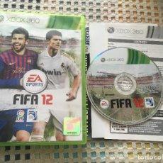 Videojuegos y Consolas: FIFA 12 XBOX 360 X360 X-360 MICROSOFT EA SPORTS KREATEN. Lote 150026822