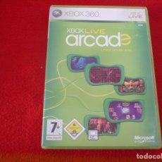 Videojuegos y Consolas: XBOX LIVE ARCADE COMPILATION DISC XBOX360 360. Lote 150107442